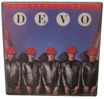 Devo Freedom of Choice Music Button Museum