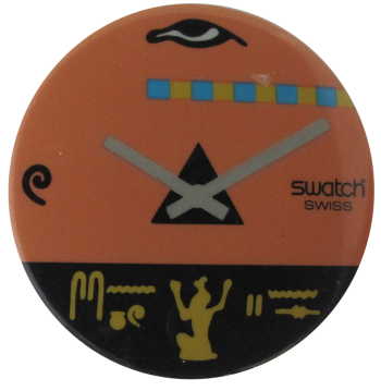 Swatch Advertising Button Museum