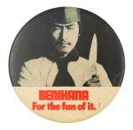 Benihana for the Fun of It Advertising Button Museum