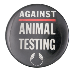The Body Shop Against Animal Testing Advertising Button Museum