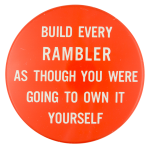Build Every Rambler Advertising Button Museum