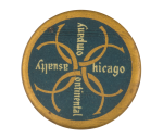 Chicago Continental Casualty Company Advertising Button Museum