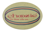 Choozie Advertising Button Museum
