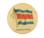 Costa Rica Flag Advertising Button Museum