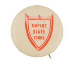 Empire State Tours Advertising Button Museum
