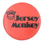 Jersey Monkey Advertising Button Museum