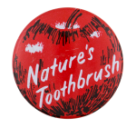 Nature's Toothbrush Advertising Button Museum