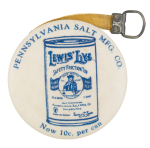 Pennsylvania Salt Manufacturing Company dvertising  Button Museum