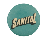Sanitol Advertising Button Museum
