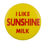 Sunshine Milk Advertising Button Museum