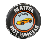 Turbofire Hot Wheels Advertising Button Museum