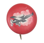 Airplane Art Button Museum
