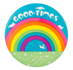 Good Times Rainbow Art Button Museum
