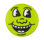 Keith Haring Face Art Button Museum