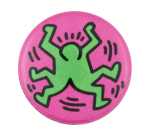 Keith Haring Twins Art Button Museum