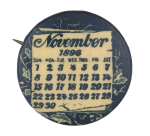 November 1896 Art Button Museum