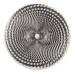 Optical Illusion Spiral Art Button Museum