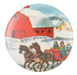 Over The River And Through The Woods Art Button Museum
