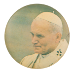 Pope John Paul II Art Button Museum