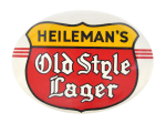 Heileman's Old Style Lager Beer Button Museum