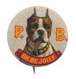P.B. Oh Be Jolly  Beer Button Museum