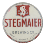 Stegmaier Brewing Company Beer Button Museum