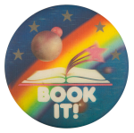 Book It Stars and Planet Cause Button Museum