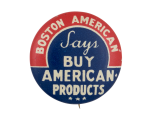 Boston American Cause Button Museum