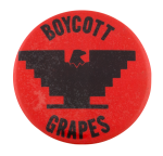 Boycott Grapes Cause Button Museum