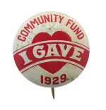 Community Fund Cause Button Museum