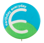 Earthday Everyday Cause Button Museum