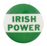 Irish Power Cause Button Museum