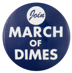Join March of Dimes Cause Button Museum