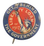 Liberty Loan of 1917 Cause Button Museum