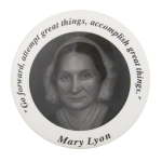 Mary Lyon Schools Button Museum