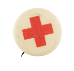 Red Cross Small Cause Button Museum