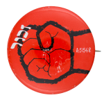 Red Fist Cause Button Museum