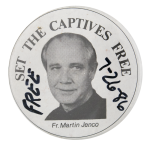 Set the Captives Free Cause Button Museum