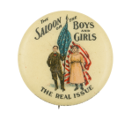 The Saloon or the Boys and Girls Cause Button Museum