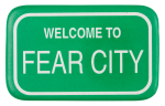 Welcome To Fear City Cause Button Museum