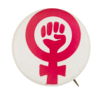 Women's Liberation Red Cause Button Museum