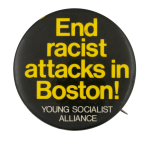 Young Socialist Alliance Cause Button Museum