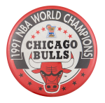 1991 NBA World Champions Chicago Button Museum