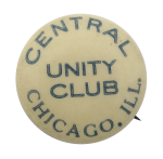 Central Chicago Unity Club Chicago Button Museum
