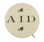 Aid In Black Club Button Museum