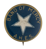 Band Of Mercy Club Button Museum