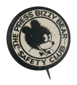 Bizzy Bear Safety Club Club Button Museum