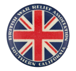 British War Relief Association  Club Button Museum