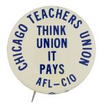 Chicago Teachers Union Chicago Button Museum