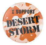 I Support Desert Storm Club Button Museum